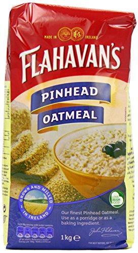 Flahavan'S Pinhead Oatmeal 1 kg (Pack of 12)