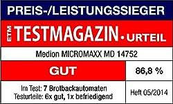 Testberichte zu Medion MD 14752