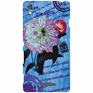 Sony Xperia T3 D5102 Back Cover ( Designer Printed Hard Case)