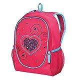 Herlitz Kindergartenrucksack Rookie Kinder-Rucksack, 29 cm, Pink Hearts