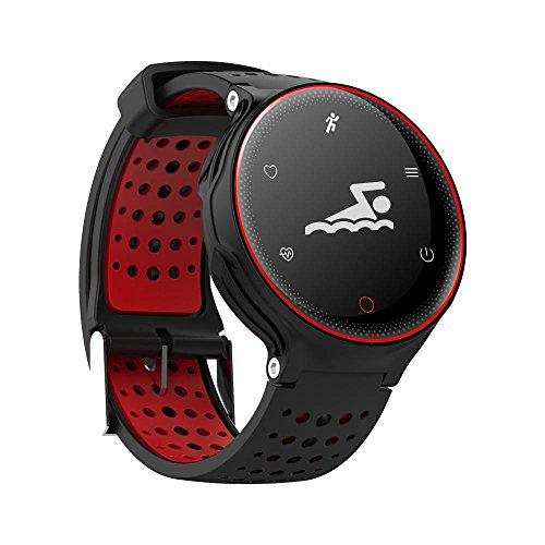 OOLIFENG Pulseras inteligentes Impermeable Presión sanguínea Reloj Bluetooth Monitor de pulso cardiaco...