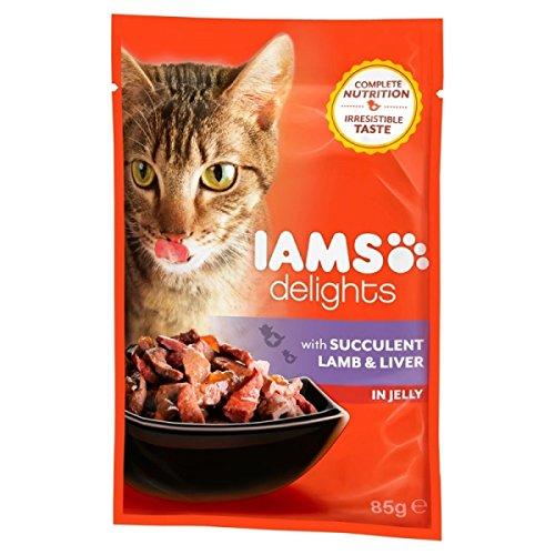 Iams - Fish 4 Dogs Sea Jerky Squares - 1447 - Gelatina 85 Grs. , Pavo y Pato (Jerky Sea Squares)