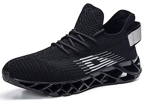 quality design 8ecf8 aff17 HMIYA Women Men Casual Sports Running Shoes Air Trainers Jogging Fitness  Shock Absorbing Gym Athletic Sneakers