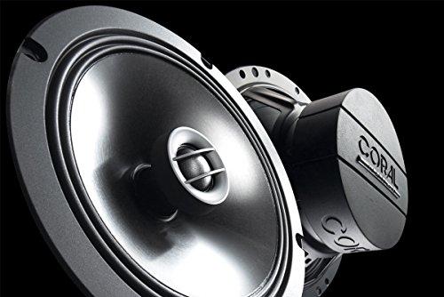 CORAL MC 165 - Altavoz coaxial bidireccional, 160 W máximo poder, color...