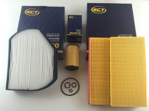 Gebraucht, FILTER SET ÖLFILTER LUFTFILTER INNENRAUMFILTER C-KLASSE gebraucht kaufen  Wird an jeden Ort in Deutschland