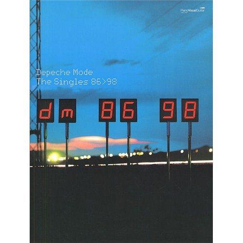 Depeche Mode: Singles 86-98. Für Klavier, Gesang & Gitarre(mit Griffbildern) (Mode-single)