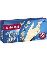 Vileda Multilatex Usa e Getta Taglia Piccola/Media - Pacco da 100 Pezzi