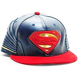 Gorra New Era – 59Fifty Character Armor Superman rojo/azul talla: 7 1/2 = 59,6 cm