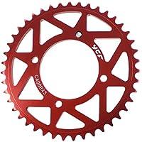 ycf Cadenas Cilindro de Color Rojo Talla 47