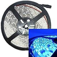 DXZMBDM® 30w 5m 300led 3528smd 635-700nm dc12v ip68 tira impermeable de color azul claro