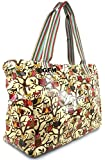GFM Large Size Gloss Finish Oilcloth Tote Bag
