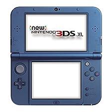 Nintendo Handheld Console 3DS XL - New Nintendo 3DS XL Metallic - Blue [New Nintendo 3DS]