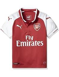 Puma Afc Home Camiseta de Fútbol, niños, Rojo, S (Talla del fabricante