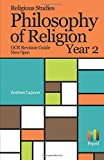 Religious Studies Philosophy of Religion OCR Revision Guide New Spec Year 2