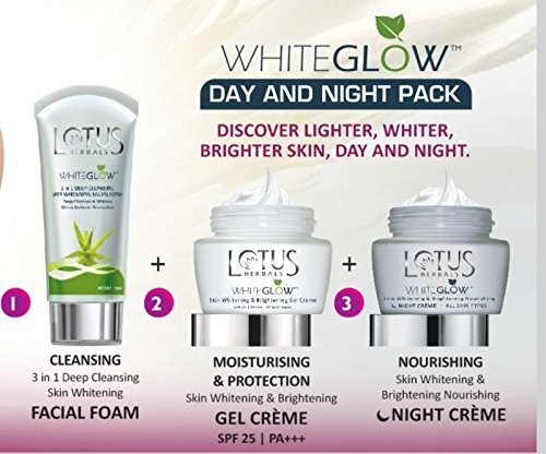 Lotus Herbals White Glow Day and Night Pack