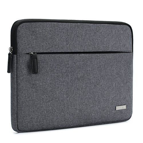 "DOMISO Notebook Schutzhülle Laptop Sleeve Case Hülle Tasche für 12"" MacBook / 10.6"" SAMSUNG Galaxy Book / 10.1"" ASUS T100CHI T102HA / 10.1"" LENOVO Miix 320 Yoga Book (Grau)"