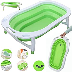 iSafe Foldable Baby Bath - Lime