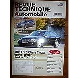 RTAB0713 - REVUE TECHNIQUE AUTOMOBILE MERCEDES-BENZ CLASSE C W203 de 04/2004 à 05/2007 Diesel C200 et C220 CDi