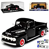 Greenlight Ford F-1 Pick-Up Schwarz 1. Generation 1948-1952 1/43 Modell Auto