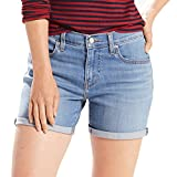 Levis Jeansshorts Damen MID Length Short 29965-0021 North Side Hellblau, Hosengröße:29