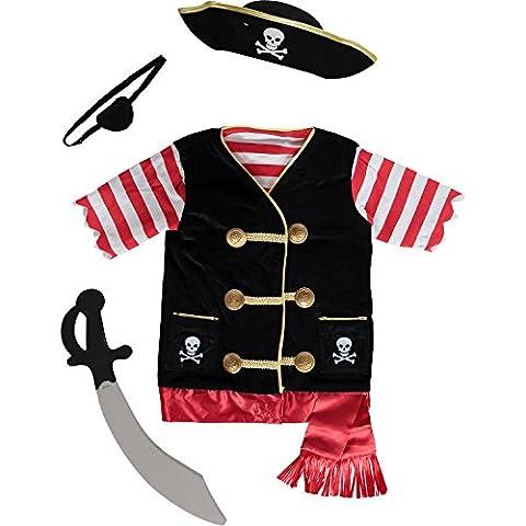 Melissa & Doug Piraten Kostüm Rolle spielen Set