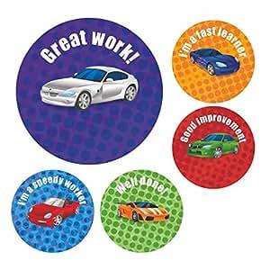 Bon Point Autocollant Récompense Cars