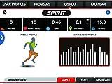 "Spirit Fitness Bike XBU 55 – Heimtrainer, Ergometer, 10 Programme, 13,5kg Schwungrad, 7,5"" LCD - 9"