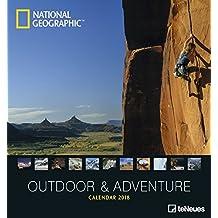 Outdoor und Adventure 2018 - Abenteuerkalender, Naturkalender, Extremsportkalender, Fotokalender - 45 x 48 cm