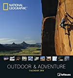 2018 Outdoor & Adventure Calendar - National Geographic - Wall Calendar- 45 x 48cm