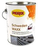 Pigrol Schweden Waxx 2,5L nussbaum Holzschutzlasur für den Innen- und Außenbereich