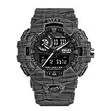 Hombres Relojes tácticos Deportes Hombre Reloj Digital Men XL