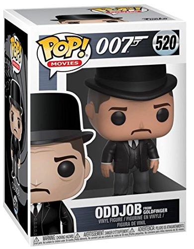James Bond Figura Vinilo Oddjob 520 Figura de coleccin