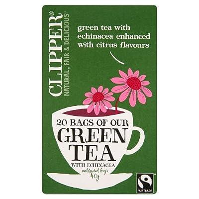 Clipper thé vert avec l'échinacée 20 Bag