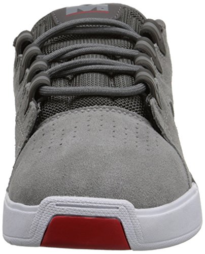 8e1899f2e5eef Chaussures pour hommes Dc Shoes Hommes Maddo Sneakers Low Top Chaussures  Gris   Rouge ...