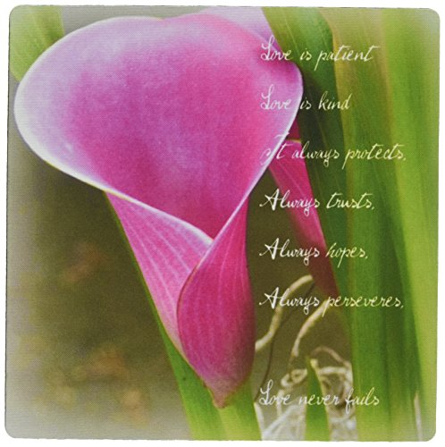 3drose-llc-8-x-8-x-025-inches-love-is-patient-pink-calla-lily-flower-photography-inspirational-patte