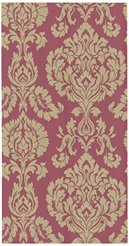 Bhf FD20329 - Gran papel pintado del damasco - rojo