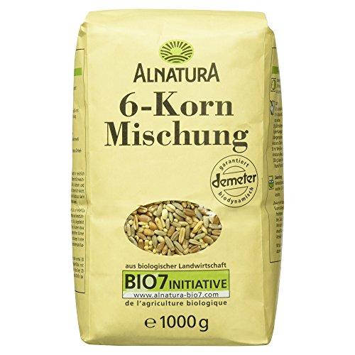 Alnatura Bio 6-Korn-Mischung, 6er Pack (6 x 1 kg)