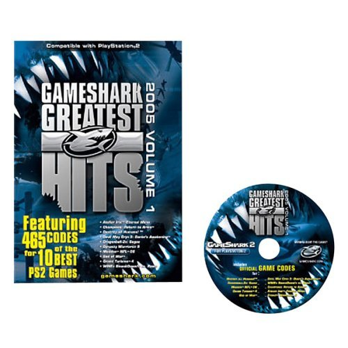 GameShark PS2 Greatest Hits: 465 Codes for 10 PS2 Games (2005, Volume 1) by GameShark (Greatest Hits-ps2)