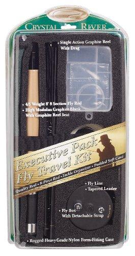 Crystal River Executive Travel Pack-Fliegenfischen (River Fishing Rod Und Reel)