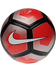 Premier League Pitch Football - Red/White