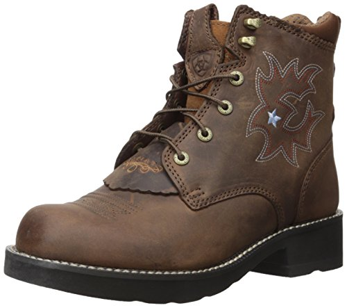 Ariat 1090 PROBABY LACER Driftwood Brown, Brown, 39 EU (' Fashion Stiefel Ariat)