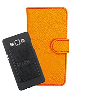 DooDa PU Leather Wallet Flip Case Cover With Card & ID Slots For Motorola Photon Q 4G LTE - Back Cover Not Included Peel And Paste