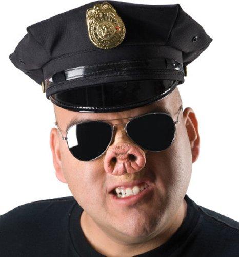 Schweinchen Nase aus Latex (Nase Schweinchen)