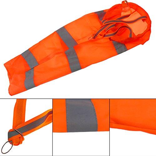Micro Trader Outdoor Windsack Aviation Rip-Stop Wind Messung Sprache Socke Tasche Reflektierende Gürtel - Wind Sock Kostüm