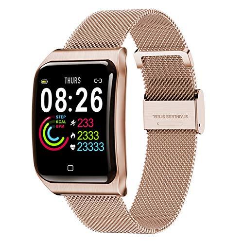 9302sonoaud 1.3inch IP67 Braccialetto Intelligente del Monitor di Sonno di frequenza cardiaca di Forma Fisica Impermeabile di d'oro