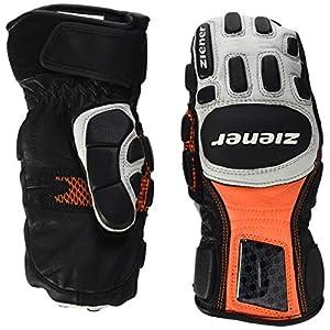 Ziener Kinder LEXOM MITTEN JUNIOR glove race Ski-Handschuhe / Wintersport   Skirennsport, Protektor, Leder