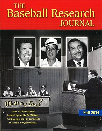 The Baseball Research Journal: 43-2 by Society for American Baseball Research (1-Nov-2014) Paperback