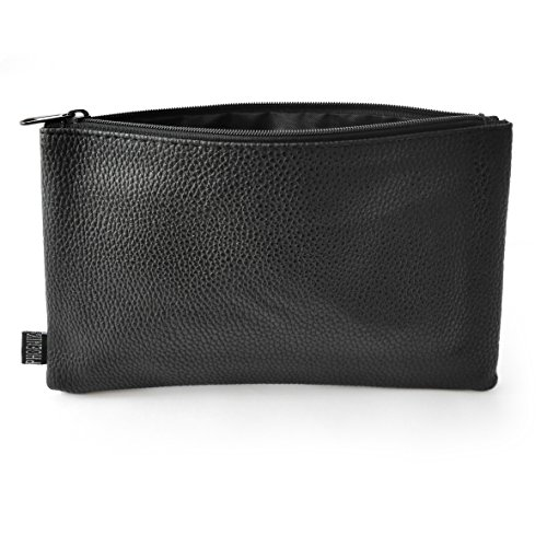 Black leather Look case by Phoenix - Black Synthetic Leather Case