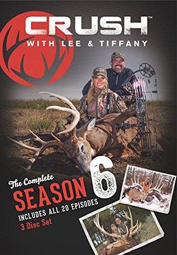 CRUSH WITH LEE & TIFFANY SEASON 6 - 3 DVD SET Bow Hunting