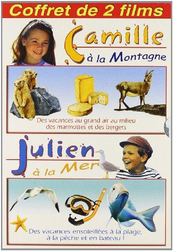 camille-a-la-montagne-julien-a-la-mer-coffret-2-dvd